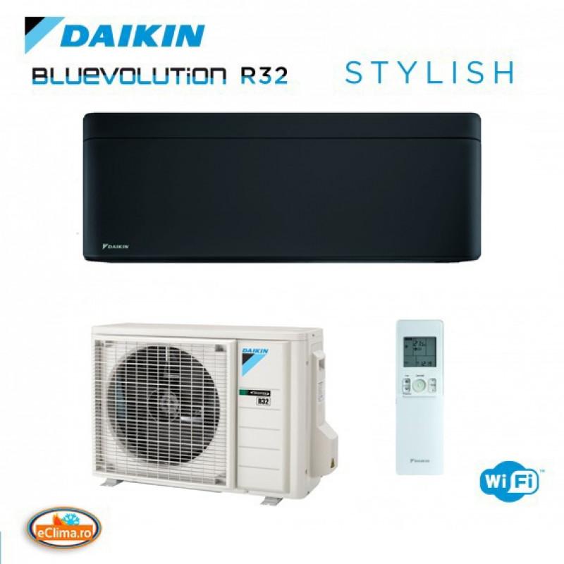 Aparat de aer conditionat Daikin Stylish Black FTXA50BB - RXA50A  Bluevolution Inverter, A+++ ,WiFi inclus 18.000 btu