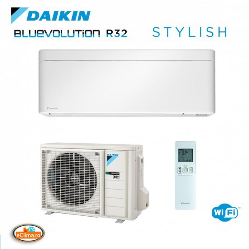 Aparat de aer conditionat Daikin Stylish White FTXA50AW - RXA50A  Bluevolution Inverter, A+++ ,WiFi inclus 18.000 btu