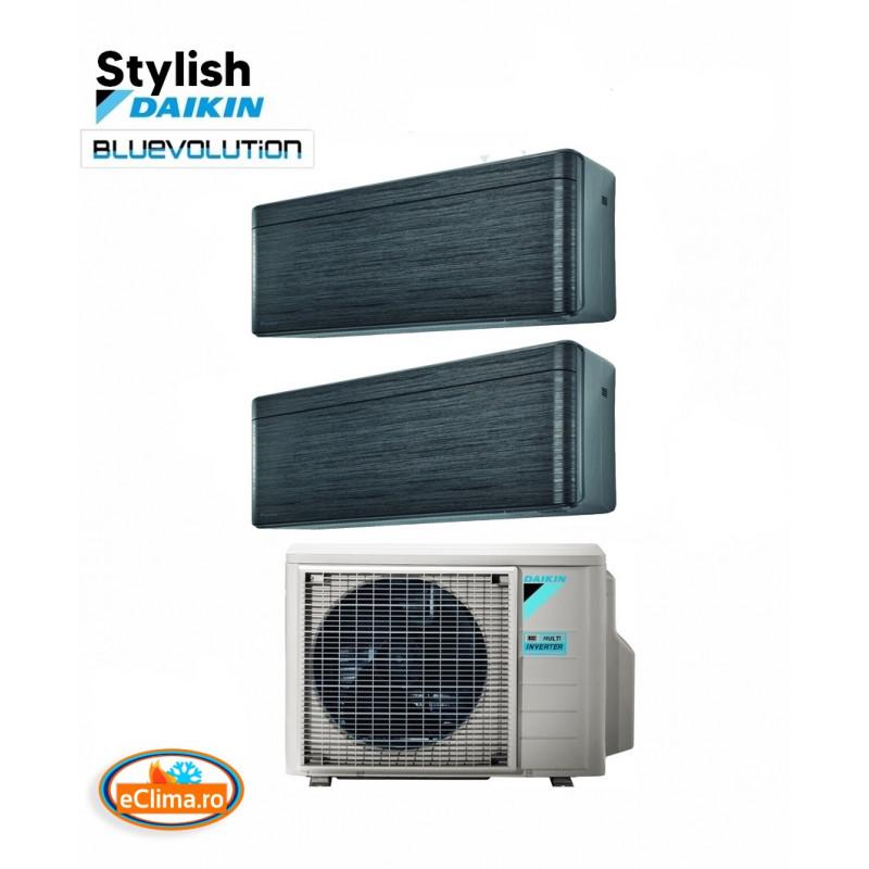 Aer Conditionat Daikin Multisplit Stylish Blackwood 2MXM50M-18.000 btu +2xFTX35AT-12.000 btu - Wifi inclus