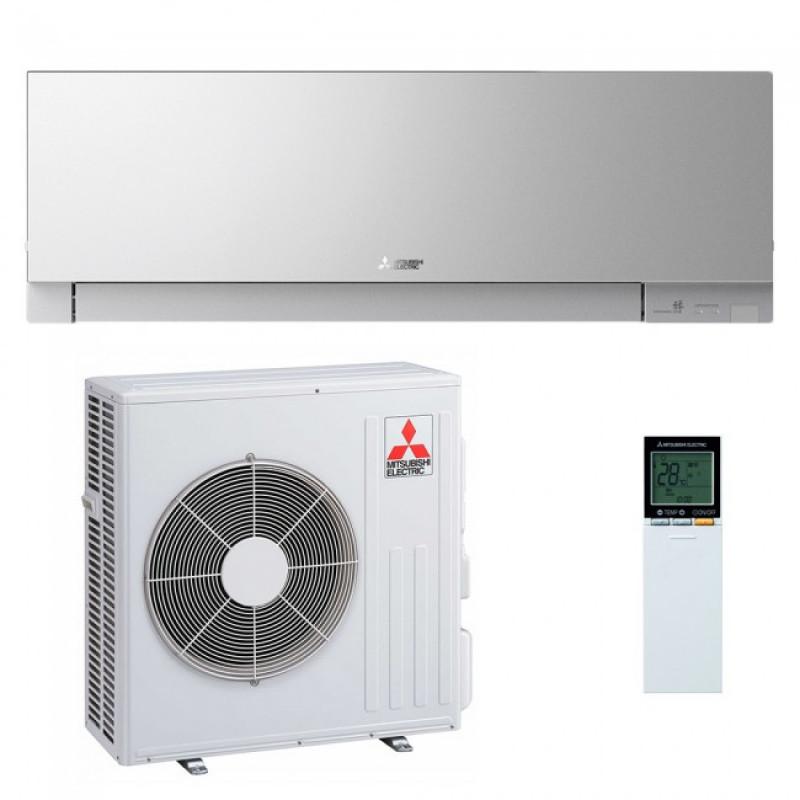 Aer conditionat Mitsubishi Electric 18000 btu MSZ-EF50VGKS + MUZ-EF50VE Inverter ,Wifi Inclus , Kirigamine Zen Silver